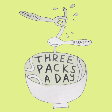 "Courtney Barnett ""Three Packs A Day"""