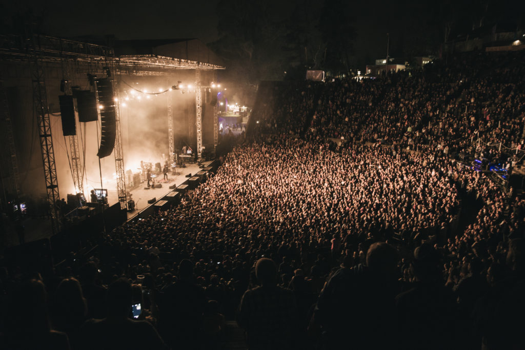 Tame Impala Greek Theater Berkeley