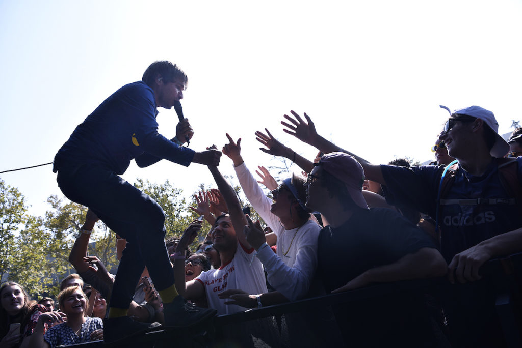 Peter, Bjorn & John at Trees Stage by Everett Fitzpatrick for FYF Fest